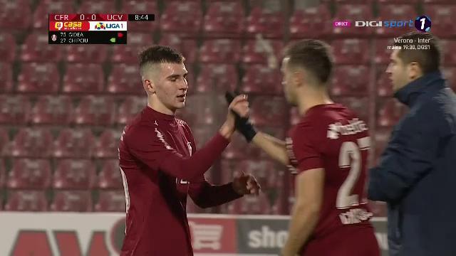 INCA O VICTIMA a regulii U21: Mihai Gidea la CFR! :) NU e o gluma! Cine e pustiul-surpriza din echipa de start a campioanei