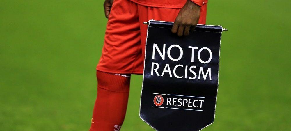 """""""Idiotii folosesc meciuri de fotbal pentru a promova o ideologie idioata!"""" UEFA solicita sprijin in lupta impotriva rasismului"""