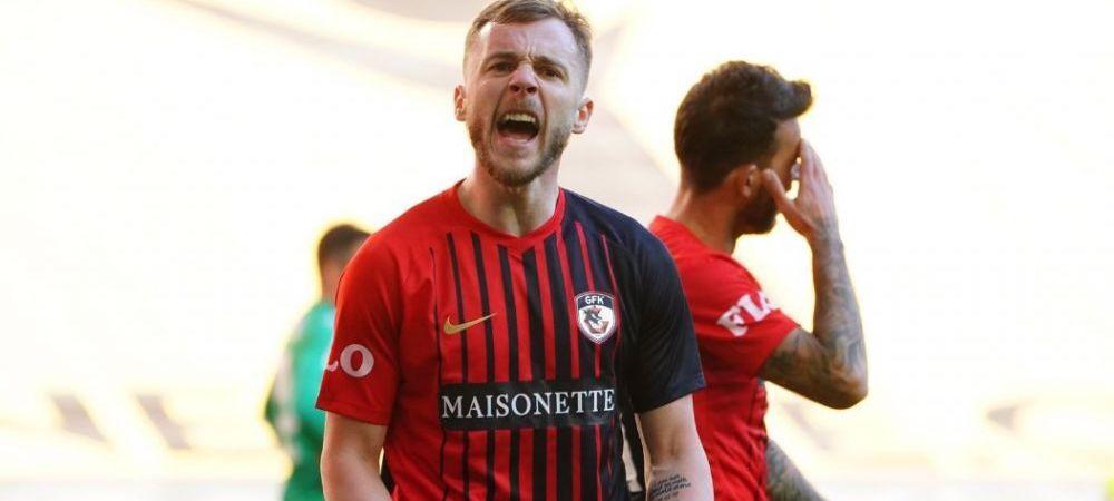 VIDEO   Alexandru Maxim e de NEOPRIT in Turcia! Vezi BIJUTERIA marcata in ultimul meci al lui Gaziantep: 5 goluri in 4 meciuri pentru mijlocasul roman