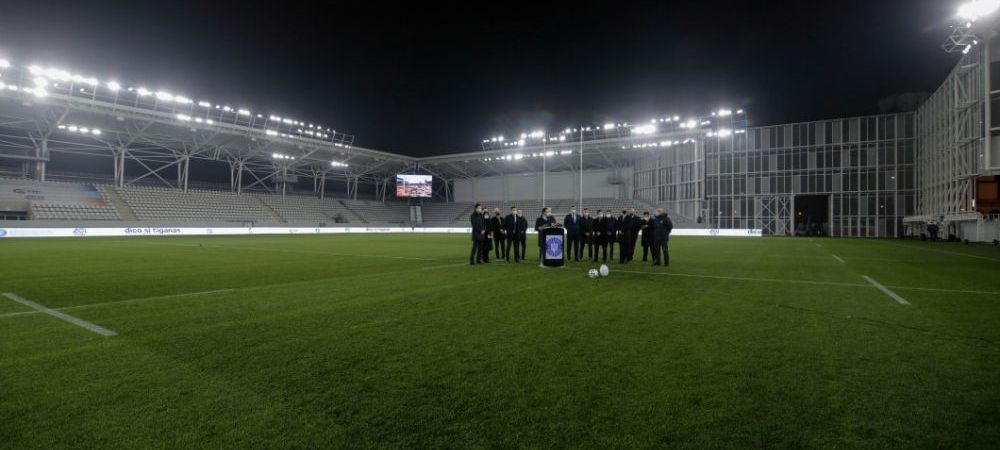 Arena pe care Becali vrea ca FCSB sa joace a fost inaugurata! Imagini incredibile cu gazonul de pe Arcul de Triumf! Cine a inscris primelepuncte
