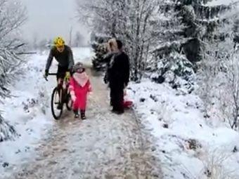 VIDEO Biciclistul care a infuriat o intreaga planeta! Ce-a putut sa faca in momentul in care a trecut pe langa un copil. Cu greu poate fi IERTAT