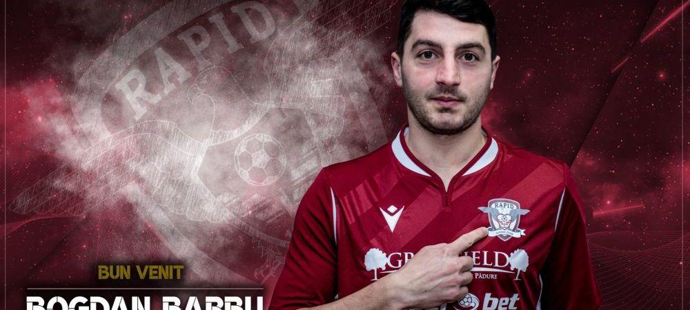 ULTIMA ORA! Rapid a realizat primul transfer al iernii! Giulestenii s-au inteles cu un fotbalist de la Universitatea Cluj