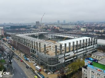 Detalii de ULTIMA ORA despre starea stadionului din Giulesti! Cand urmeaza sa fie FINALIZATA arena de 33.5 milioane de euro