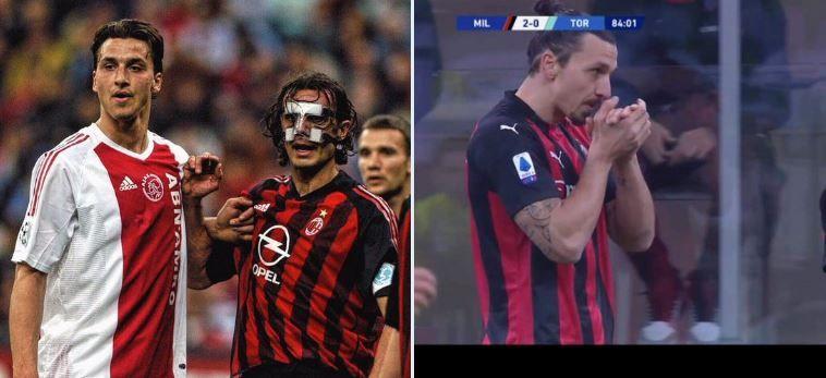 Zlatan Ibrahimovic intinereste pe zi ce trece! Postarea care face acum inconjurul lumii: moment istoric pentru suedez in ultima partida a lui AC Milan