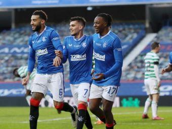 Cale LIBERA pentru Rangers si Ianis Hagi in campionatul Scotiei! Celtic, decimata de Covid-19 pentru meciul cu Hibs