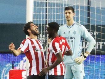 Real 1-2 Bilbao   SOC pentru Real! Echipa lui Zidane rateaza intalnirea cu Barcelona din finala Supercupei! 'Dubla' lui Raul Garcia a facut diferenta