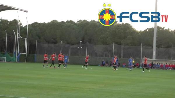 BREAKING NEWS: GALERIE FOTO | Primele imagini de la partida amicala FCSB 3-2 Kemerspor! Ce formula de start a folosit Toni Petrea inaintea duelului cu Astra din Liga 1