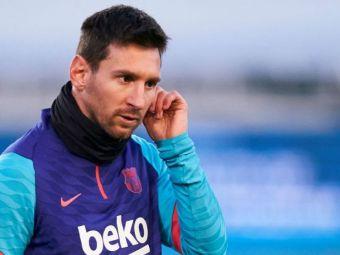 """Koeman a facut anuntul: """"S-a antrenat singur!"""" Ce se intampla cu Messi inainte de finala Supercupei cu Bilbao"""