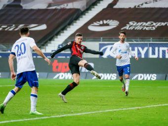 Zidane, ai vazut?! Gol FABULOS al lui Jovic la PRIMUL MECI pentru Eintracht! A reusit dubla in 20 de minute
