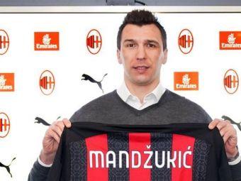OFICIAL | Mario Mandzukic este fotbalistul Milanului! Atacantul croat vine alaturi de Ibrahimovic pentru a intrerupe suprematia lui Juventus in Serie A