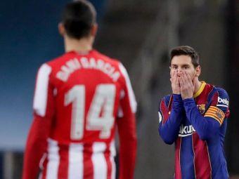 Messi si-a aflat pedeapsa dupa cartonasul rosu primit in finala Supercupei Spaniei! Cat va lipsi de pe teren