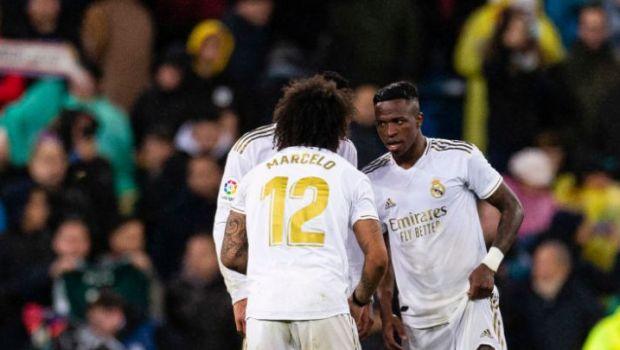 """Dialog INCREDIBIL pe teren intre Vincius si Marcelo in timpul meciului din Cupa Spaniei!""""Vini, nu-ti bate joc!"""""""