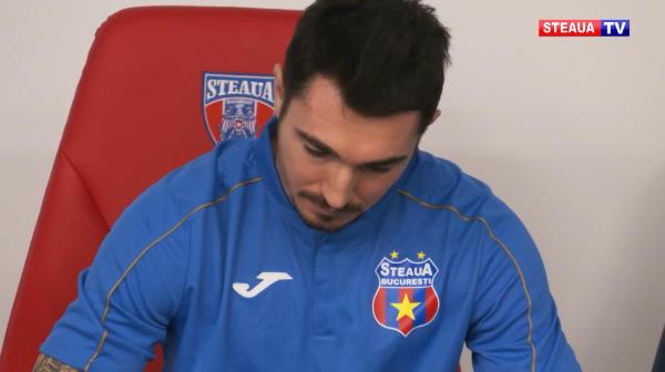 BREAKING NEWS: Steaua l-a adus pe jucatorul crescut PSG langa un campion mondial din nationala Frantei! A fost prezentat pe noul stadion de 100 de milioane