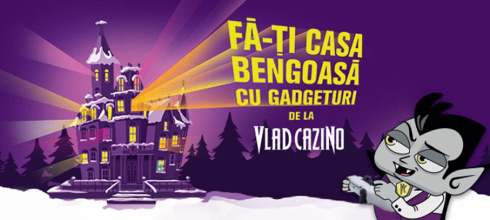 (P)Gadgeturi pentru fiecare cameră din locuință și alte premii tari în noua campanie Vlad Cazino