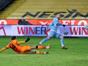 Maxim a INSCRIS din nou in Turcia! A marcat cu Galatasaray, dar Gaziantep a pierdut! Ce loc ocupa in clasamentul marcatorilor