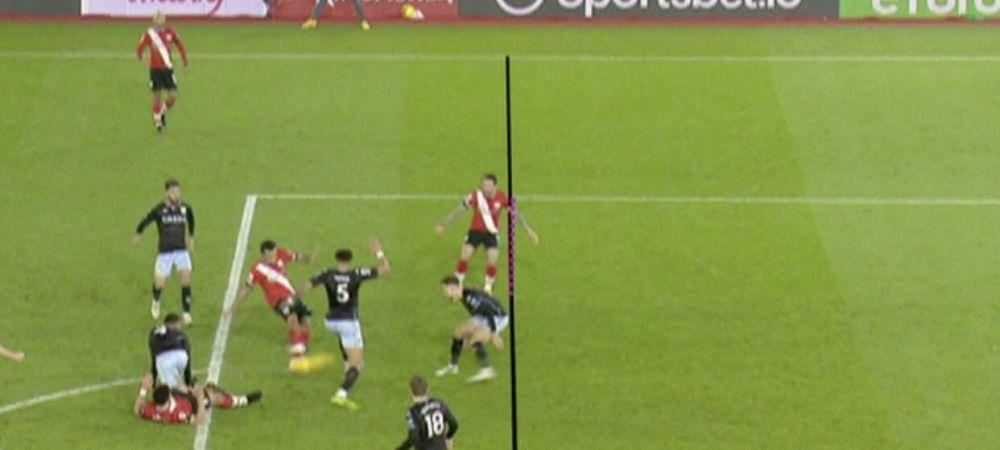 Asta e prea de tot! Gol anulat de VAR dupa CEL MAI MIC offside din istoria fotbalului! Faza INCREDIBILA in Premier League