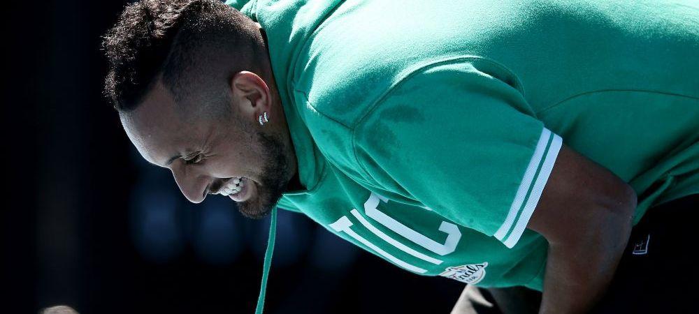 """Kyrgios n-a mai jucat un meci de un an, dar nu duce dorul sportului care l-a facut celebru: """"Tenisul nu e prioritatea mea, toti jucam dupa ureche, nimeni nu stie cine e in forma!"""""""