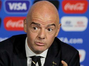 """""""Fotbalistii nu sunt prioritari!"""" Presedintele FIFA a vorbit despre vaccinarea jucatorilor! Ce spune despre organizarea Mondialului din 2022"""