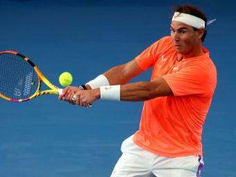 Accidentat, Rafael Nadal a ratat primul meci al sezonului, dar a facut SHOW in tribune la victoria Spaniei in Cupa ATP