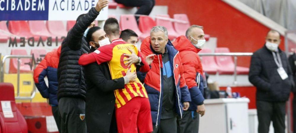 Petrescu, remiza cu echipa de pe locul patru din Turcia intr-un meci plin de evenimente! Luckassen a debutat pentru Kayseri, iar Sapunaru a fost ELIMINAT