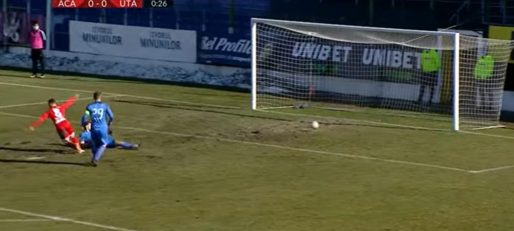VIDEO   A reusit cel mai rapid gol din acest sezon al Ligii 1! De cate secunde a avut nevoie Liviu Antal pentru a inscrie in meciul cuAcademica Clinceni