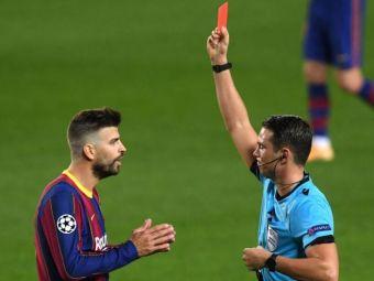 Gerard Pique o ataca din nou pe Real Madrid! Ce spune fundasul Barcelonei despre deciziile arbitrilor din Spania
