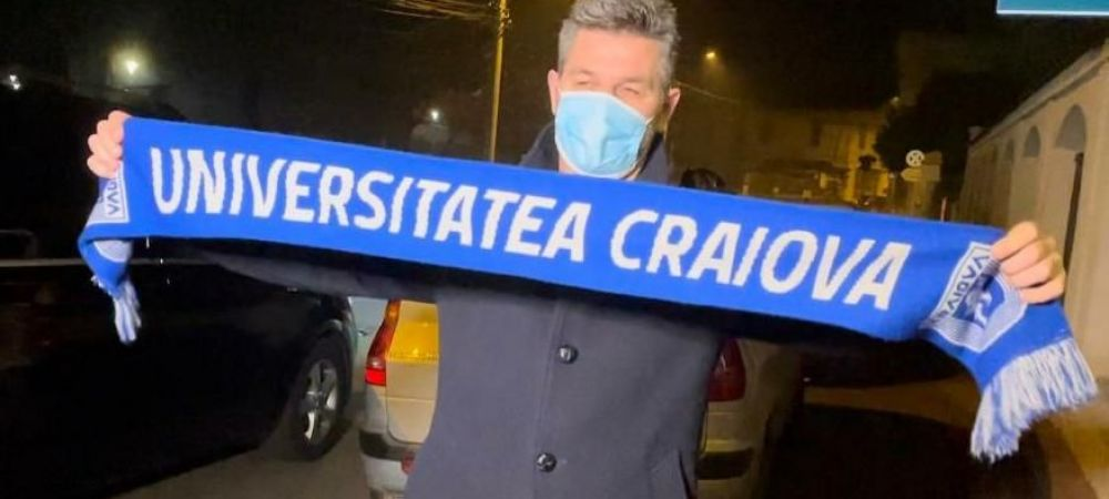 Noul antrenor al Craiovei a AJUNS in Romania si va semna cu echipa lui Rotaru! Primele imagini cu Ouzounidis la Craiova