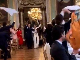 Ziua nuntii li s-a transformat in cosmar. E cel mai detestat cuplu al momentului. Imagini ireale pe timp de pandemie