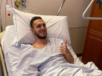 Virgil Ghita primeste o noua lovitura crunta! Dupa ratarea transferului la Ferencvaros, fundasul se confrunta cu probleme medicale si a fost operat
