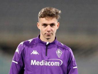"""Oferte importante pentru Louis Munteanu! """"Are reputatie de baiat bun spre deosebire de Mutu!"""" Romanul putea pleca de la Fiorentina"""