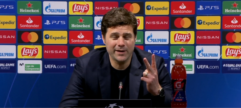 """Auzi, de cate ori ai castigat pe Camp Nou!?"" Moment GENIAL cu Mbappe si Pochettino. Ce i-a zis Kylian antrenorului sau :))"