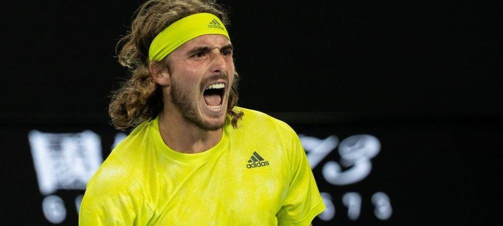 Stefanos Tsitsipas a devenit doar al doilea om care il bate pe Rafael Nadal de la 0-2 la seturi! Grecul va juca in semifinale cu Daniil Medvedev