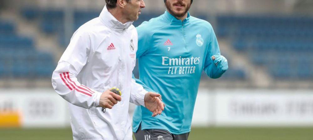 Eden Hazard a revenit la antrenamente! Cum i-a surprins pe sefii lui Real Madrid