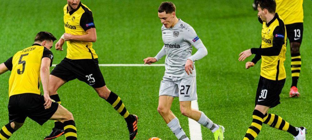 FA-BU-LOS! Leverkusen a revenit SENZATIONAL dupa ce a fost condusa cu 0-3 la pauza, insa nu a fost de ajuns! Young Boys s-a impus cu 4-3 dupa un meci DE INFARCT