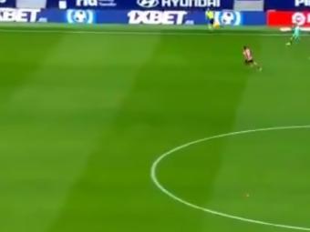 Faza vazuta acum de milioane de oameni! Oblak a urcat la ultima faza, Atletico a luat un gol INCREDIBIL in minutul 95 de la mijlocul terenului! Real e la 3 puncte dupa 1-0 cu Valladolid