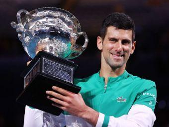 Novak Djokov18! Liderul ATP a facut instructie cu Medvedev in finala Australian Open 2021 si a castigat AL NOUALEA titlu la Melbourne