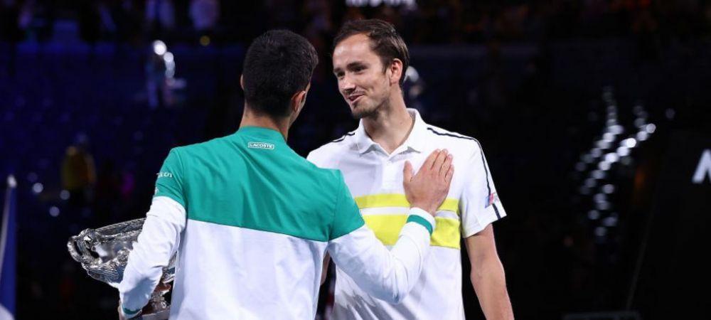 Discrepanta URIASA intre banii incasati de campionul Djokovic si finalistul Medvedev la AO 2021   Sarbul i-a facut o declaratie de dragoste... Arenei Rod Laver