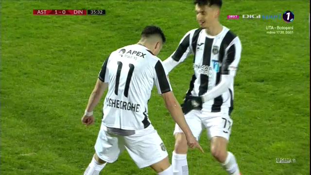 I-a dat gol lui Dinamo cu o lovitura COPIATA de la Ronaldo, apoi s-a bucurat FIX ca el! Cum a marcat Vali Gheorghe pentru Astra