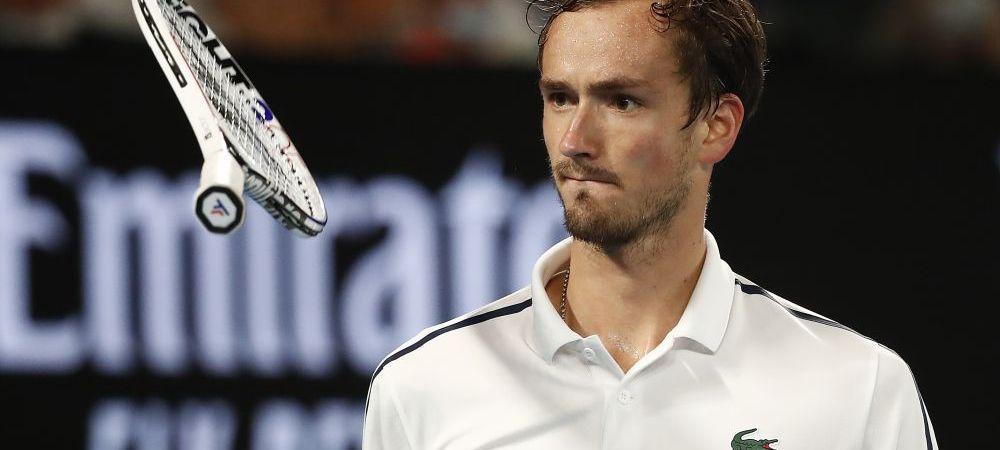 """Noul numar 3 ATP, Daniil Medvedev ii caracterizeaza pe Roger, Rafa si Novak: """"Sunt niste cyborgi ai tenisului, dar nu ma gandesc niciodata ca ar fi prea puternici pentru mine!"""""""