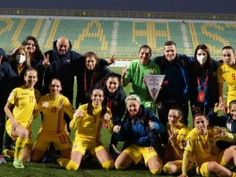 Victorie pentru nationala de fete a Romaniei la debutul lui Dulca! 'Tricolorele' s-au impus in ultimul meci din calificarile la Euro