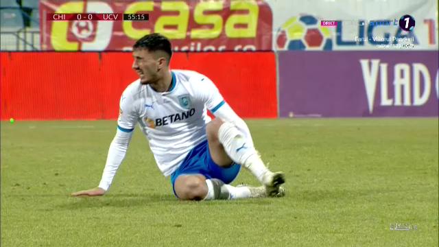 """""""Nu pot sa cred ca arbitrul nu a vazut penalty-ul ala!"""" Ouzounidis nu-si explica decizia lui Istvan Kovacs! Ce a spus dupa Chindia 1-0 Craiova"""