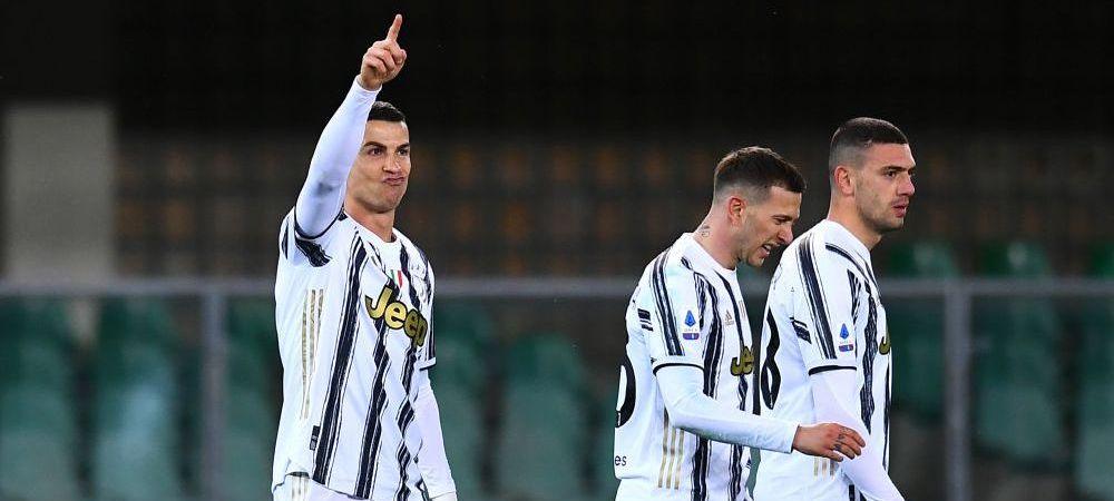 Golul lui Ronaldo NU ajunge! Juve tremura TOT mai tare in lupta pentru titlu: doar egal cu Verona! Dragusin n-a jucat