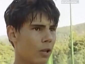"""De neuitat! Clipul in care """"Regele Zgurii"""", Rafael Nadal declara la 16 ani ca prefera sa joace mai mult pe hard si pe iarba :)"""