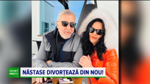 Ilie Nastase divorteasa pentru a cincea oara! Sotia care il acuza ca a batut-o a depus actele de divort, desi anuntase ca il iarta