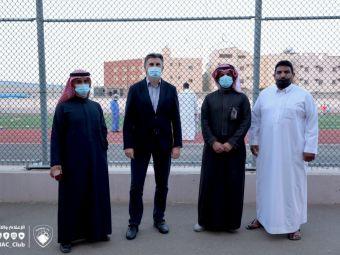 Lupescu, in vizita la echipa 'magicianului' Budescu! Imagini cu directorul tehnic al Federatiei Arabe alaturi de seicii de la Damac