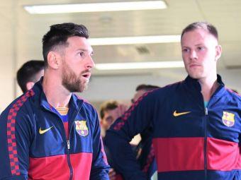 Scandal pe tunel intre conducatorii Sevillei si Messi! Ce i-au strigat starului Barcelonei dupa eliminarea din Cupa