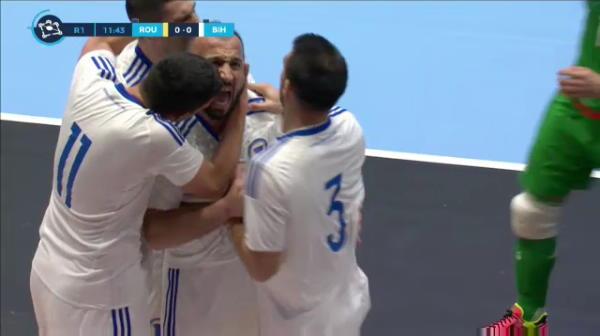 Prima infrangere a nationalei de futsal in calificarile la Euro 2022! AICI sunt fazele meciului Romania 2-3 Bosnia-Hertegovina
