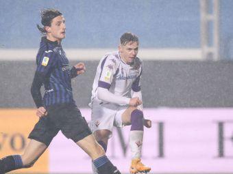 Louis Munteanu, fata in fata cu Man si Mihaila! A fost chemat la echipa mare a Fiorentinei dupa dubla cu AC Milan de la tineret