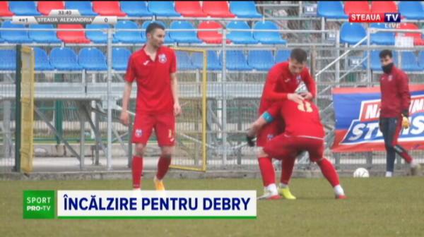 CSA Steaua, gata de SUPER-DUELUL cu FCSB 2! Victorie CLARA in ultimul amical inainte de meciul cu echipa lui Becali