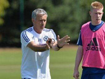 Kevin De Bruyne a povestit momentul cand a fost 'calcat in picioare' de Mourinho! Ce i-a spus portughezul